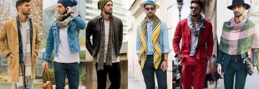 Mens Scarves Collection | Men's Cashmere Scarves |