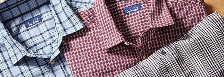 Mens Shirts Long Sleeves and Short Sleeves  