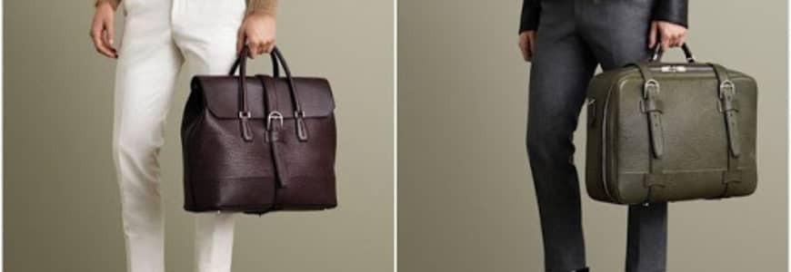 Herrenhandtaschen Kollektion | Lederhandtaschen Herren |