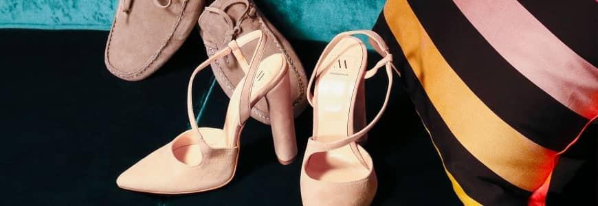 Collezione di scarpe e stivali da donna  